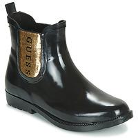 Shoes Women Wellington boots Guess REKHA3 Black / Gold