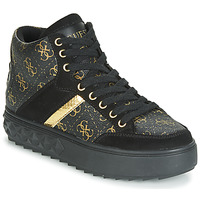 Shoes Women High top trainers Guess FIXIN Black