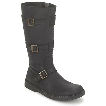 Shoes Women Boots Kickers LOCKNESS Black