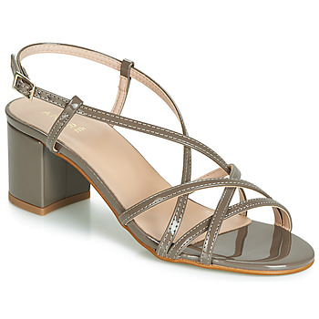 Shoes Women Sandals André CHIARA Taupe