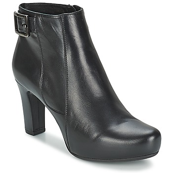 Shoes Women Low boots Unisa NAPUR Black