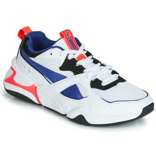 Torrente Vacunar Maestro  Puma NOVA 2 White / Blue - Fast delivery | Spartoo Europe ! - Shoes Low top  trainers Women 72,00 €