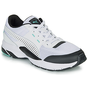 Shoes Low top trainers Puma FUTURE RUNNER PREMIUM White / Black