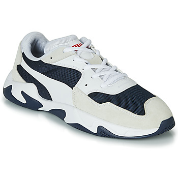 Shoes Men Low top trainers Puma STORM ADRENALINE White / Black