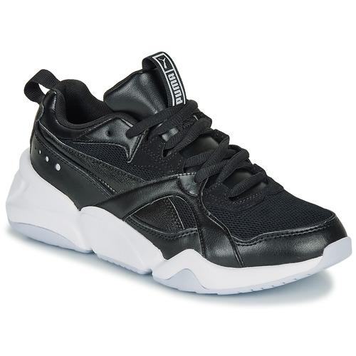 Celda de poder oyente Recepción  Puma NOVA 2. W Black - Fast delivery | Spartoo Europe ! - Shoes Low top  trainers Women 72,00 €
