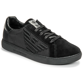 Shoes Men Low top trainers Emporio Armani X4X279-XM035-A085 Black