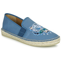 Shoes Men Espadrilles Kenzo ESPADRILLE ELASTIQUE TIGER HEAD Blue