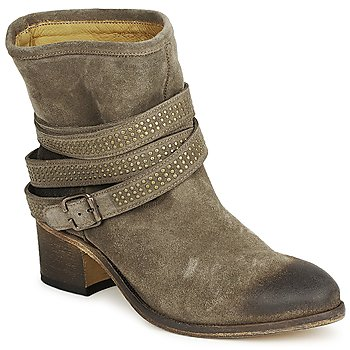 Ankle boots / Boots Atelier Voisin FEW DAIM TAUPE 350x350