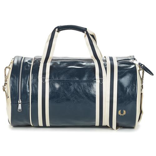 Bags Men Sports bags Fred Perry CLASSIC BARREL BAG Marine
