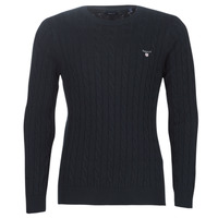 material Men jumpers Gant COTTON CABLE CREW Marine