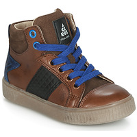 Shoes Boy High top trainers Acebo's 5290-CUERO Brown