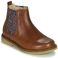 Shoes Girl Mid boots Acebo's 5274-CUERO-J Cognac