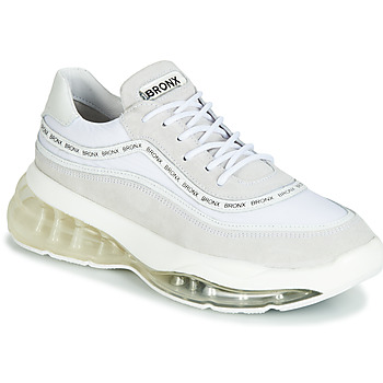 Shoes Women Low top trainers Bronx BUBBLY White