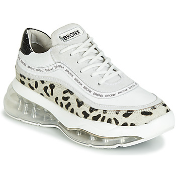 Shoes Women Low top trainers Bronx BUBBLY White / Black