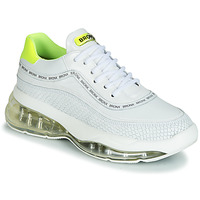 Shoes Women Low top trainers Bronx BUBBLY White / Yellow