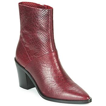 Shoes Women Ankle boots Bronx NEW AMERICANA LOW Bordeaux
