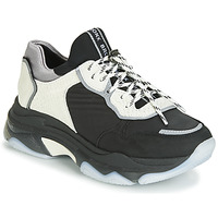 Shoes Women Low top trainers Bronx BAISLEY Black / White