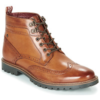 Shoes Men Mid boots Base London BOWER Cognac