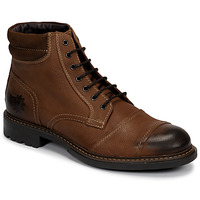 Shoes Men Mid boots Base London REPTON Cognac