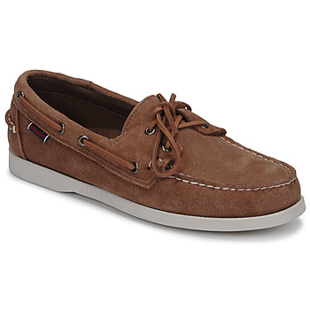 Shoes Men Boat shoes Sebago DOCKSIDES PORTLAND SUEDE Camel