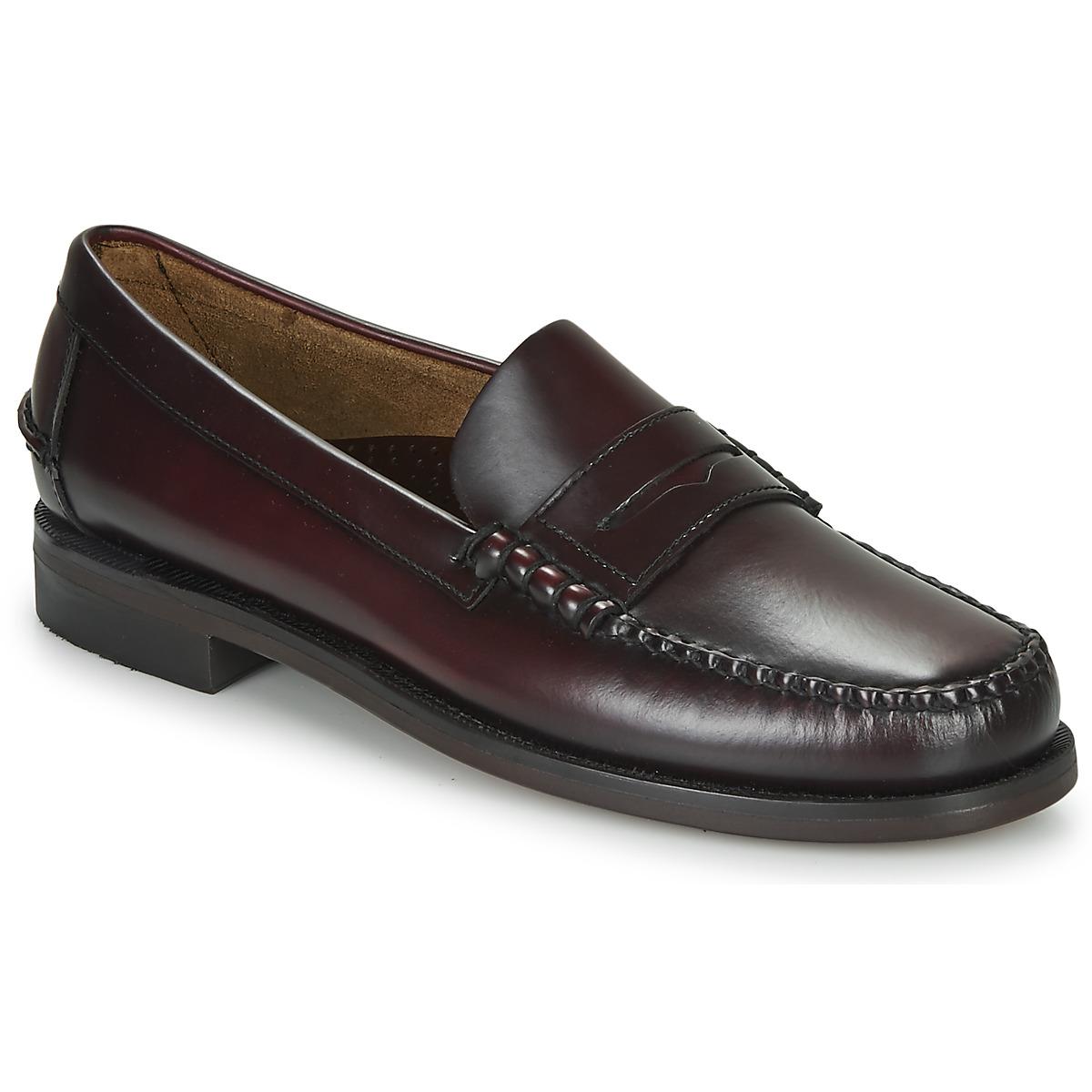 Sebago Classic Leather Mens Formal Slip On Casual Smart Loafer Shoes UK5-15