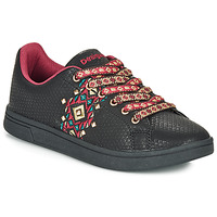 Shoes Women Low top trainers Desigual COSMIC NAVAJO Black