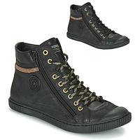 Shoes Women High top trainers Pataugas BONO Black