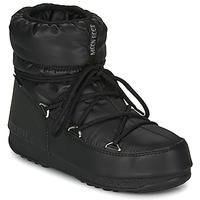 Shoes Women Snow boots Moon Boot MOON BOOT LOW NYLON WP 2 Black