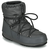 Shoes Women Snow boots Moon Boot MOON BOOT LOW NYLON WP 2 Grey