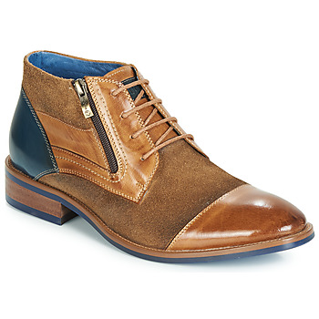 Shoes Men Mid boots Kdopa MANGO Cognac