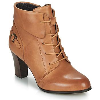 Shoes Women Ankle boots Kdopa ALOE Cognac