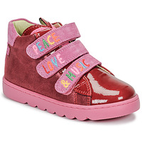 Shoes Girl High top trainers Agatha Ruiz de la Prada HOUSE Red / Pink