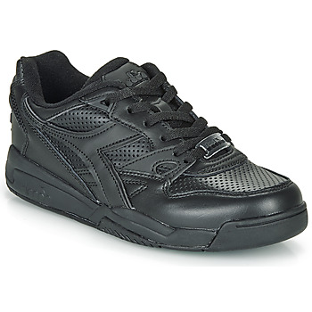 Shoes Low top trainers Diadora REBOUND ACE Black