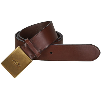 Accessorie Men Belts Polo Ralph Lauren PP PLAQUE-CASUAL-MEDIUM Brown