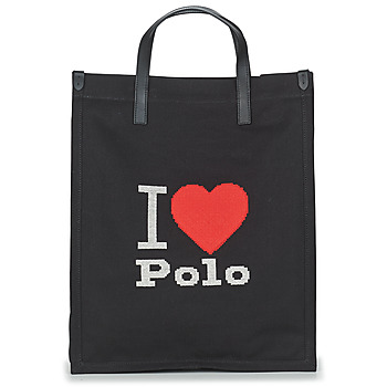 Bags Women Shopper bags Polo Ralph Lauren I HRT POLO CVS/LTHR Black