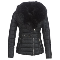 material Women Duffel coats Moony Mood LOUVE Black