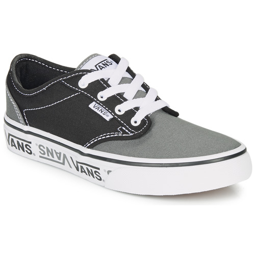 Shoes Children Low top trainers Vans YT ATWOOD NR Black