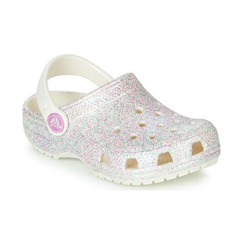 Crocs CLASSIC GLITTER CLOG K White