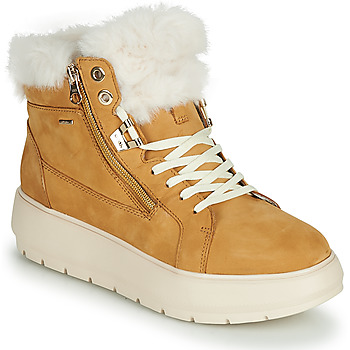 Shoes Women Snow boots Geox KAULA B ABX Mustard