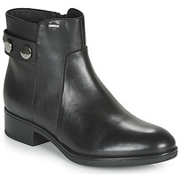 Shoes Women Mid boots Geox D FELICITY NP ABX Black
