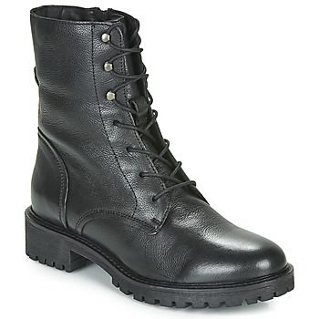 Shoes Women Mid boots Geox D HOARA Black