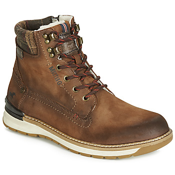 Shoes Men Mid boots Mustang 4141602-362 Brown