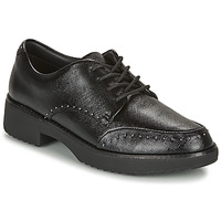 Shoes Women Derby shoes FitFlop KEELY MICROSTUD BROGUES Black
