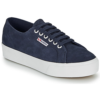 Shoes Women Low top trainers Superga 2730 SUEU Navy