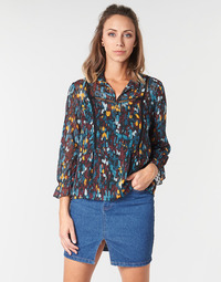 material Women Blouses One Step CARTER Blue