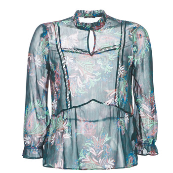 material Women Blouses One Step CARTER Green