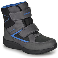 Shoes Boy Snow boots Geox J KURAY BOY B ABX Black / Blue / Waterproof