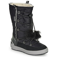 Shoes Girl Snow boots Geox J SLEIGH GIRL B ABX Black
