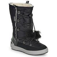 Shoes Girl Snow boots Geox J SLEIGH GIRL B ABX Black