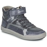 Shoes Boy High top trainers Geox J ARZACH BOY Blue / Grey